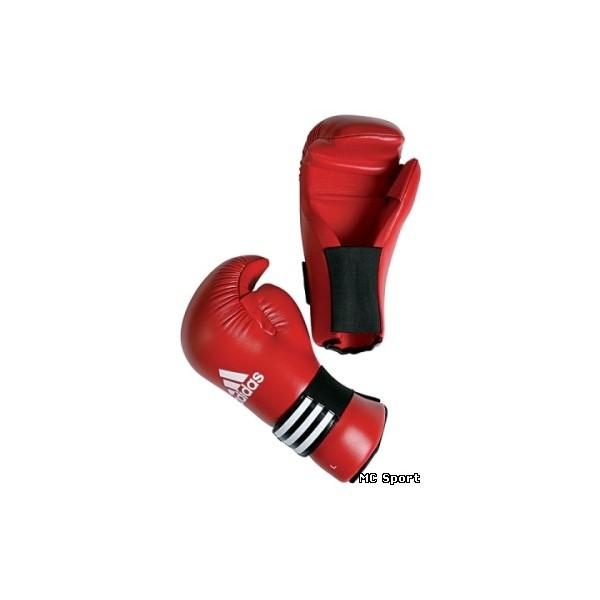 Перчатки для тхэквондо ITF и кикбоксинга Adidas