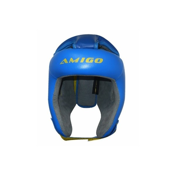 Шлем боксерский AMIGO c закрытым вверхом