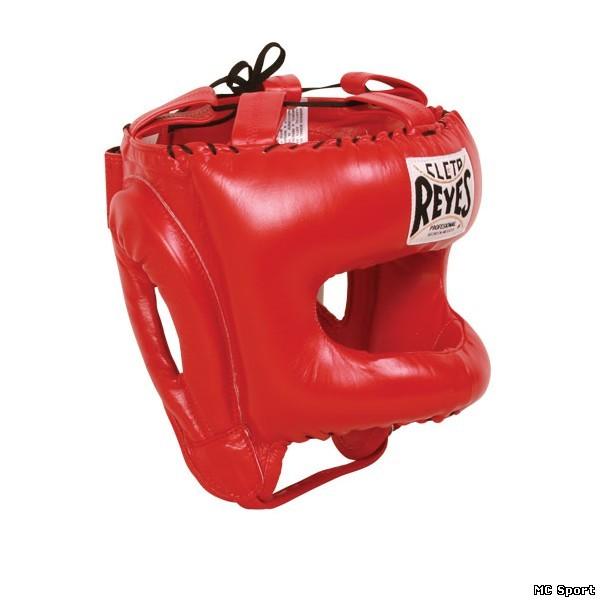 Шлем боксерский защита носа с бампером  для тренировок Cleto Reyes