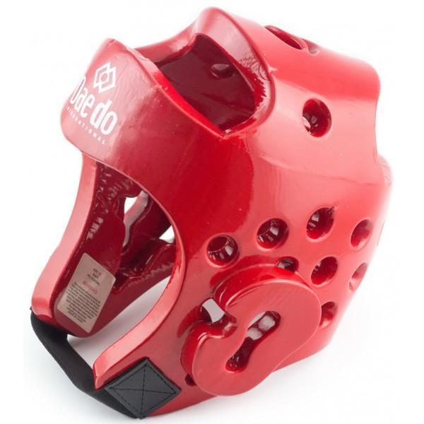 Шлем защитный Daedo WTF Approved красный