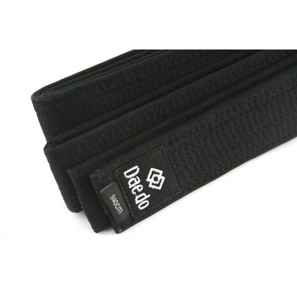 Пояс черный  Daedo Black Belt