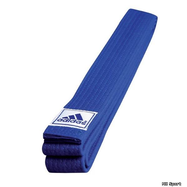 Синий пояс для карате Adidas WKF