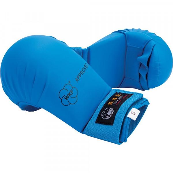 Перчатки, накладки на кисть каратэ TOKAIDO WKF