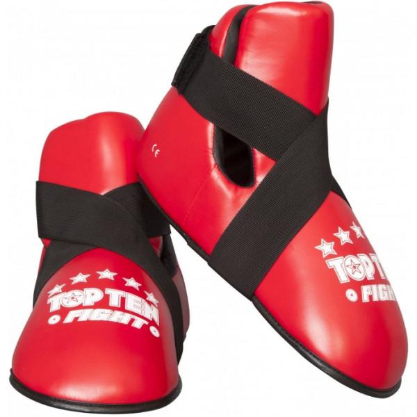Футы Top Ten Fight кож.зам.(Топ тен) для тхэквондо и кикбоксинга