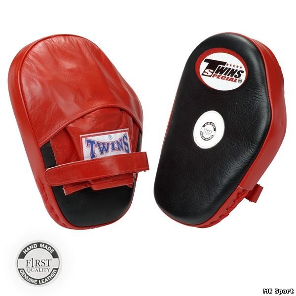 Боксерские лапы TWINS PML-5 стандартные черный/красный