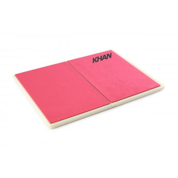 Доска для разбивания красная Khan (пластик) многоразовая