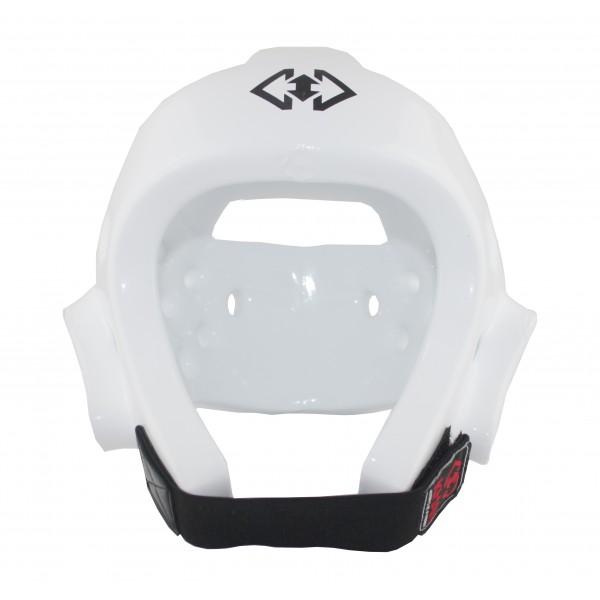 Шлем защитный Khan Club для тхэквондо WT белый
