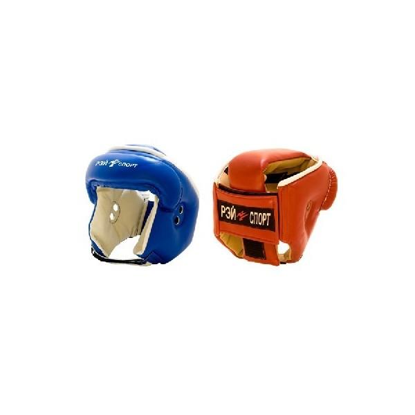 Шлем для бокса усиленный с закрытым верхом БОКС 2