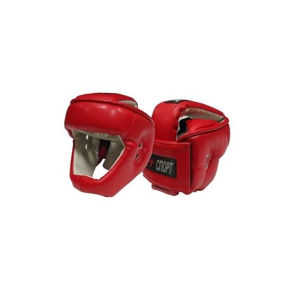 Шлем для контактных единоборств Бампер кожа