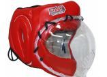 Шлем с прозрачной маской для косики карате КРИСТАЛЛ 1