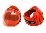 Шлем с прозрачной маской на липучке или шнуровке
