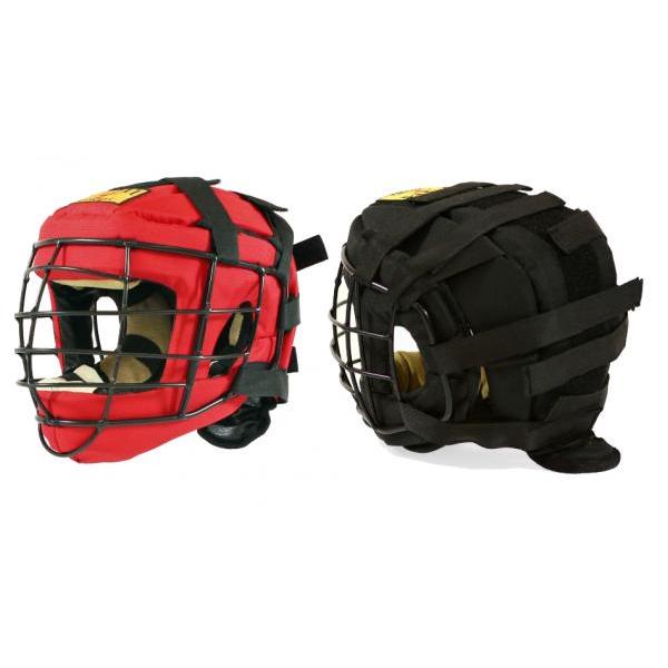 Шлем для единоборств ТИТАН-4 со стальной маской