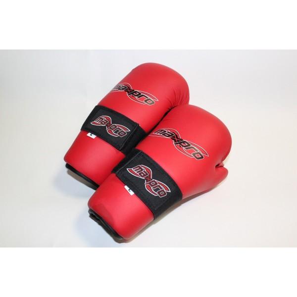 Перчатки с открытой ладонью для тхэквондо ITF  Max Pro