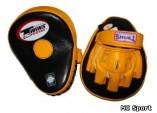 Лапы боксерские TWINS PML-10 гнутые