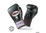 Перчатки боксерские тренировочные,резинка черный