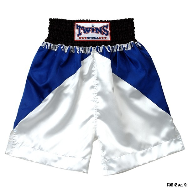Боксерские шорты синий/белый