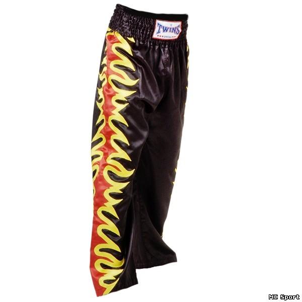 Кикбоксерские штаны черные