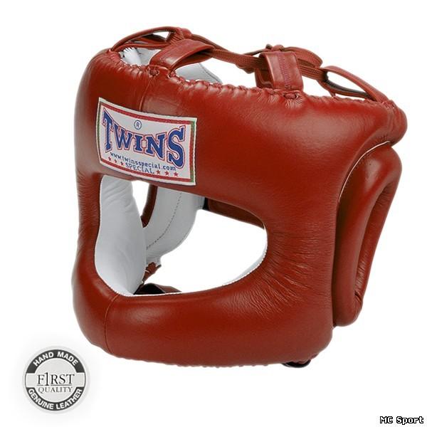 Боксерский шлем защита носа с бампером HGL 9