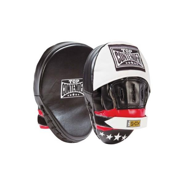 Боксерские лапы изогнутые CONTENDER