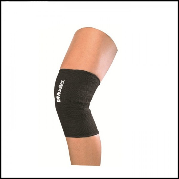 Фиксатор колена эластичный (черный)