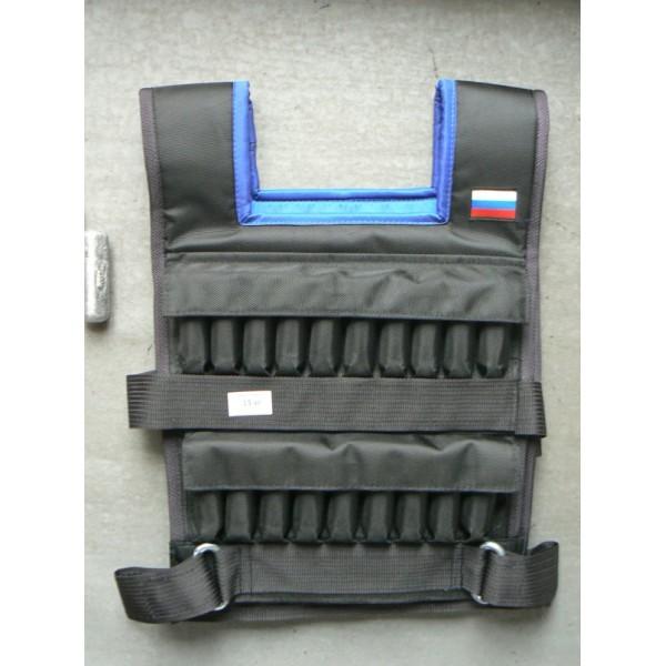 Жилет Утяжелитель Мастер 19 кг