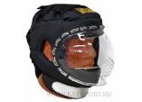 Шлем для ножевого боя с прозрачной маской