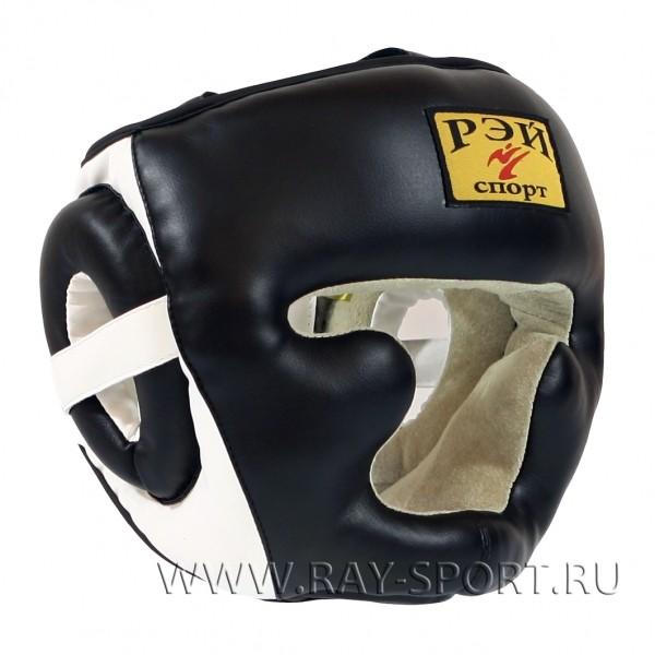 Шлем боксерский тренировочный Рэй спорт