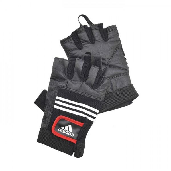 Перчатки тяжелоатлетические (кожа)