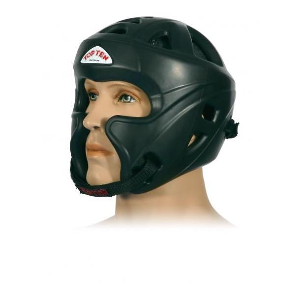 Шлем для кикбоксинга c защитой скул Top Ten (топ тен)