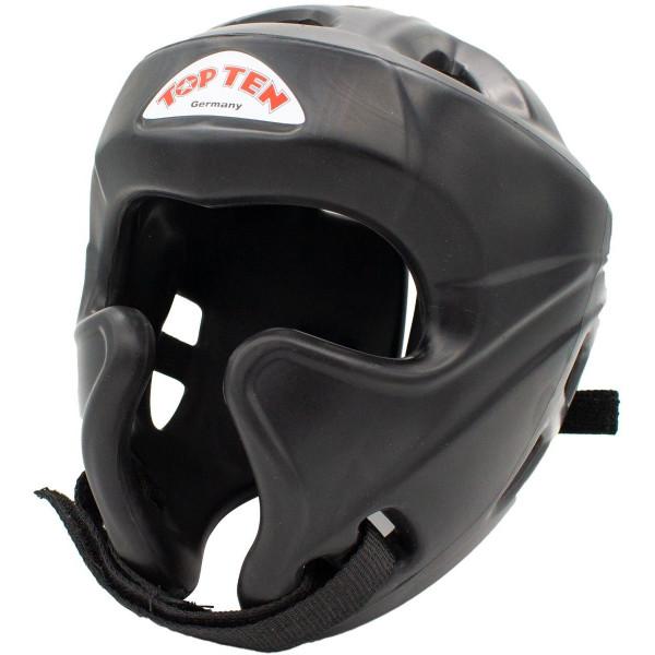 Шлем для кикбоксинга c защитой скулTraining Top Ten (топ тен)