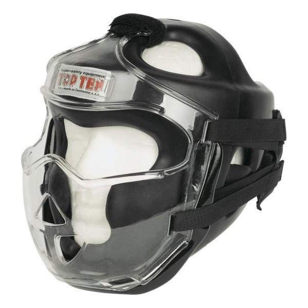 Шлема для кикбоксинга c защитой скул + маска Top Ten (топ тен)