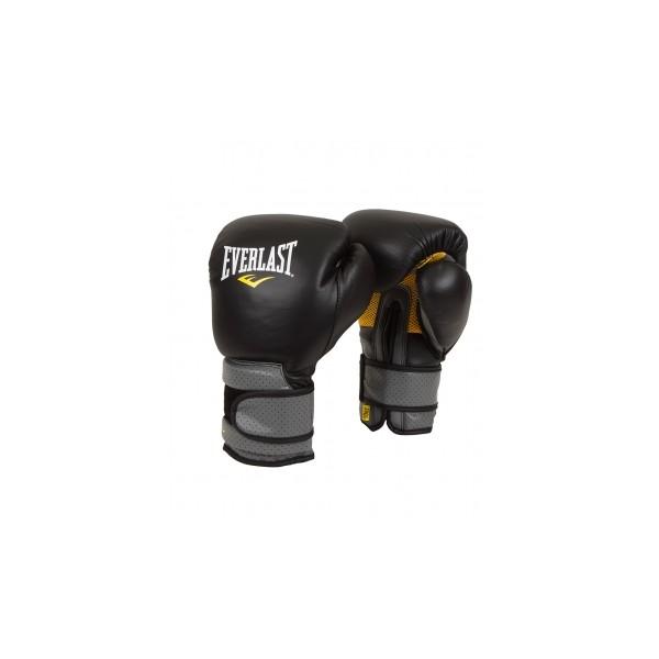 Перчатки тренировочные на липучке Pro Leather Strap