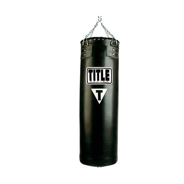 Мешок бокс. Title кожа