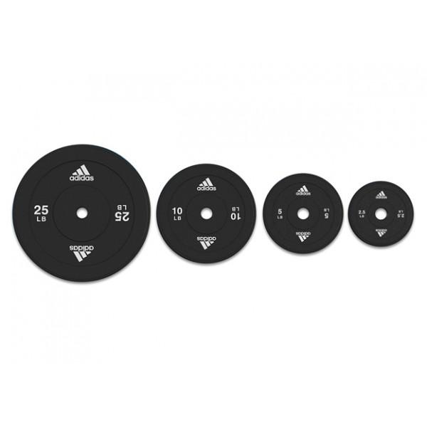 Весовые диски Adidas (30 мм, 10 кг)