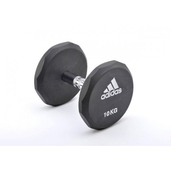 Гантель обрезиненная Adidas 15 кг