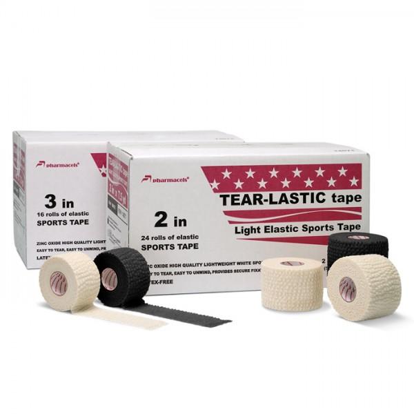 Tear Lastic Tape Pharmacels™, Легкоразрываемый, ZnO, белый