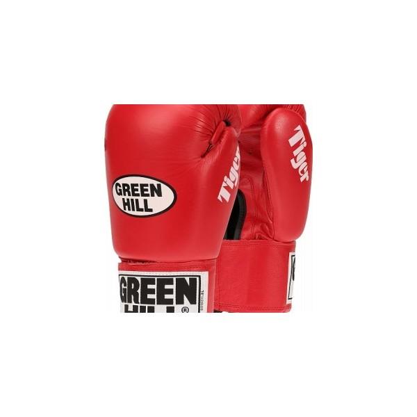 Перчатки боксерские BGT 2011cTiger Green Hill без AIB