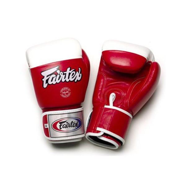 Тренировочные перчатки на липучке Fairtex (BGV-2) 10oz
