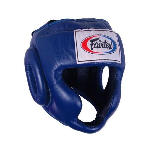 Шлем тренировочный с подборотком и скулами Fairtex (HG-3)