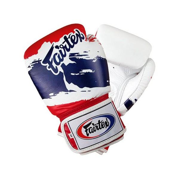 """Тренировочные перчатки на липучке Fairtex """"Thai Pride"""" (BGV-1) 10-12oz"""