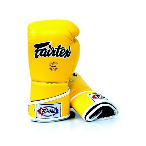 Тренировочные перчатки на липучке Fairtex (BGV-6) 12-14oz