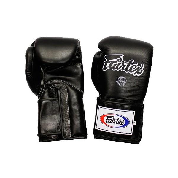Тренировочные перчатки на липучке Fairtex (BGV-5) 16-18oz