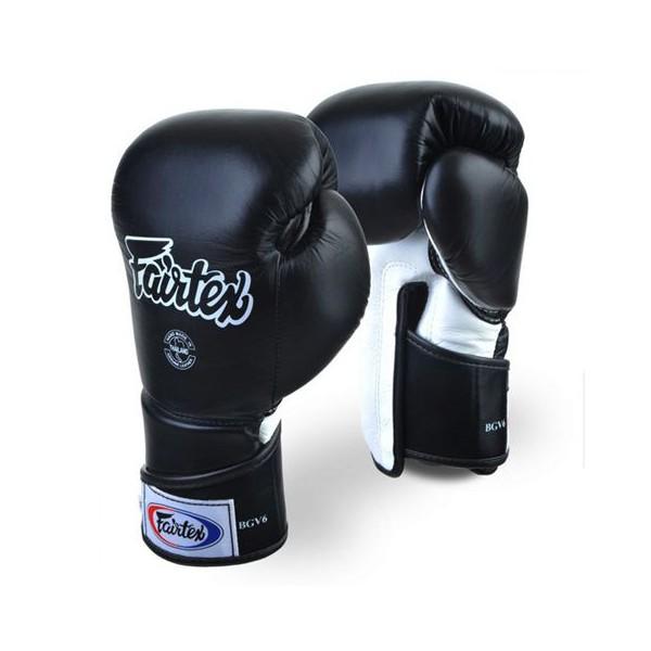 Тренировочные перчатки на липучке Fairtex (BGV-6) 16-18oz
