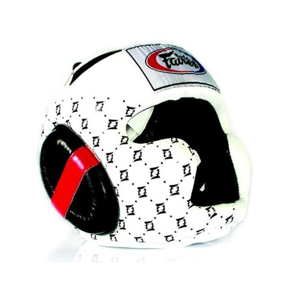 Шлем тренировочный с закрытыми скулами Fairtex (HG-10)