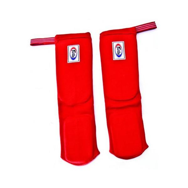 Защита на ноги для соревнований с чулком Fairtex (SPE-1)