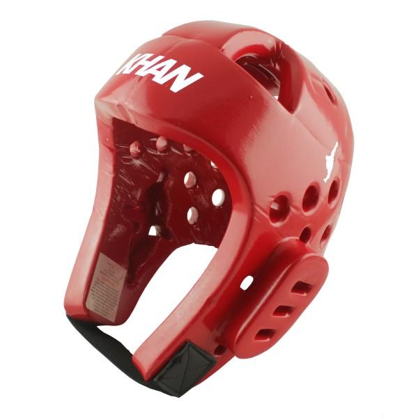 Шлем защитный Khan Club  красный WTF