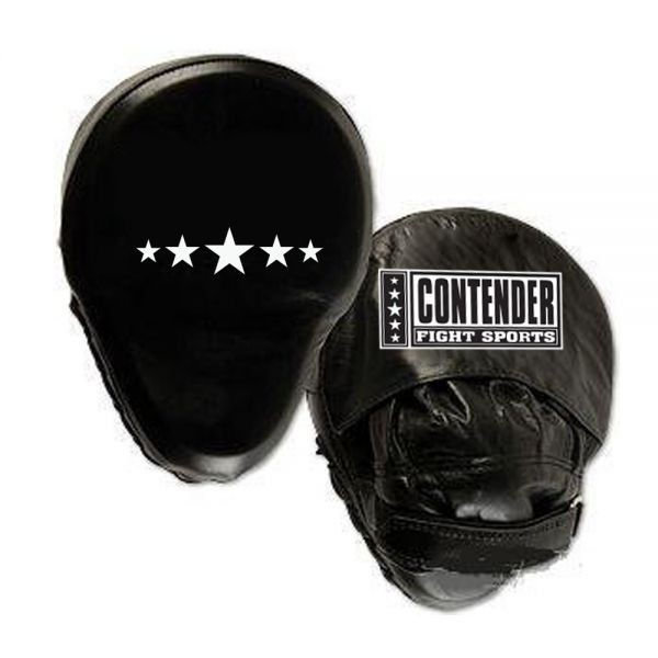 Боксерские лапы изогнутые