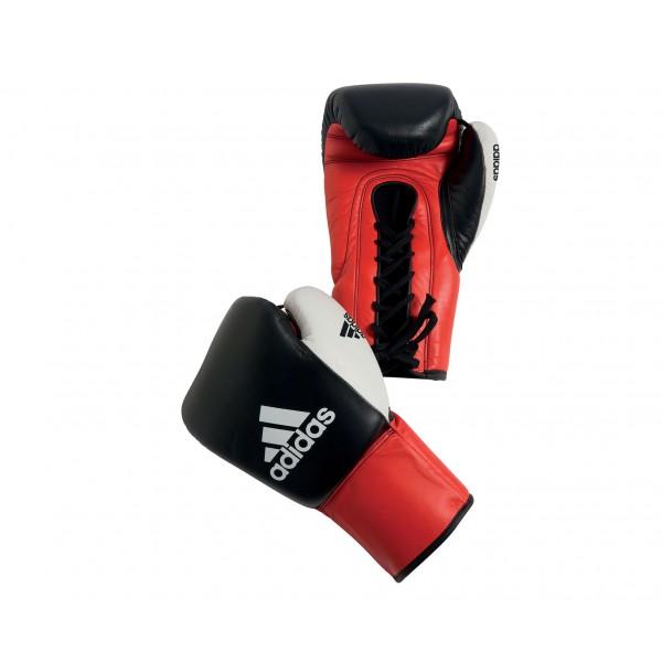 Перчатки боксерские Dynamic Professional черно-красно-белые 10 унций