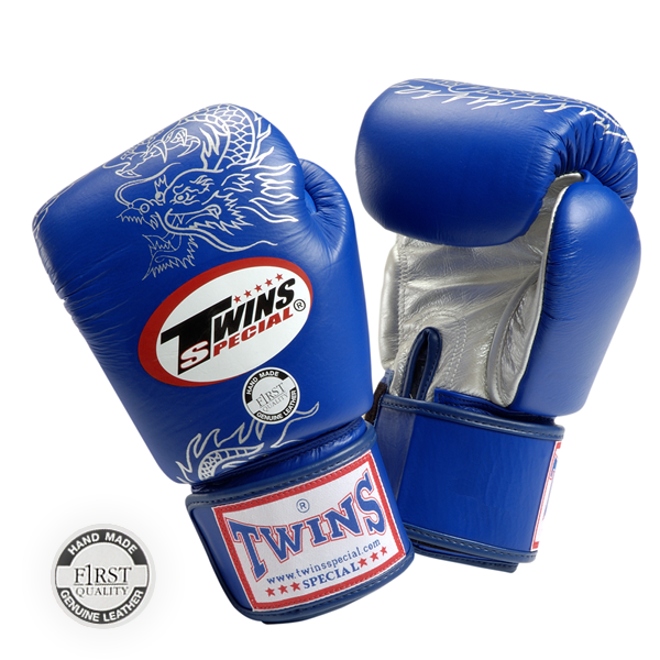 Перчатки боксерские TWINS тренировочные с рисунком ,липучка
