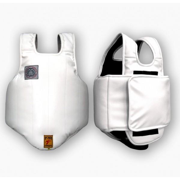 Кираса для Косики Каратэ с защитой спины, на «липучке».